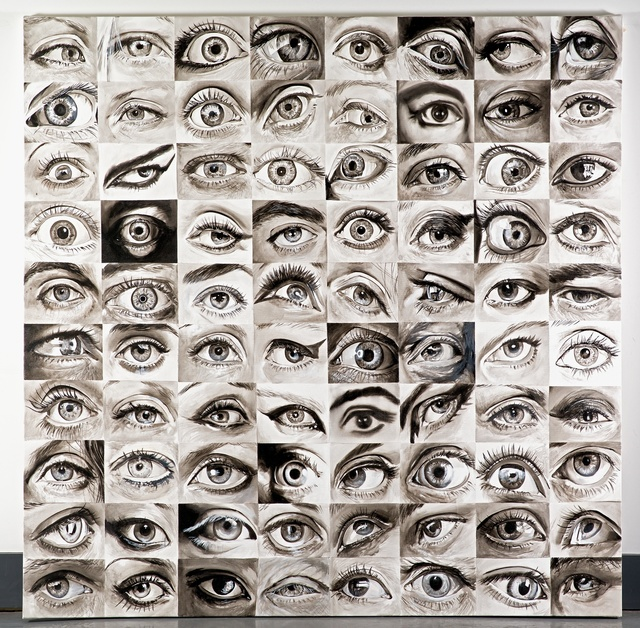 , '80 Eyes,' 2014, Lyle O. Reitzel