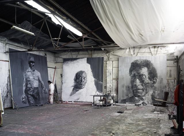 Yan Pei-Ming, 'Atelier Eiffel, Dijon ', 2007, Photography, Inkjet on paper, Qiao Space