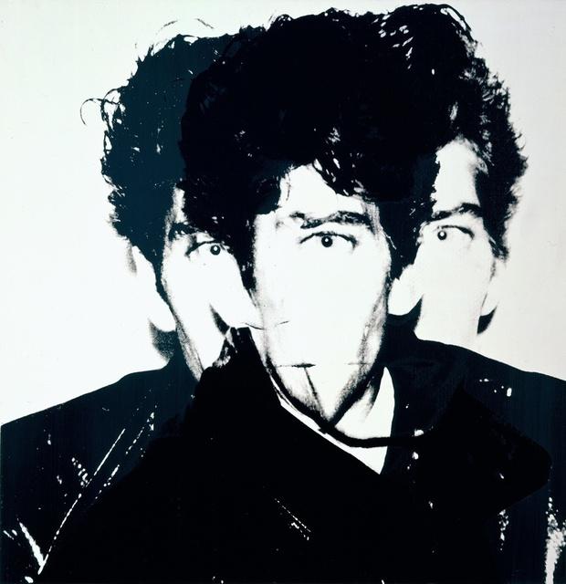 Andy Warhol, 'Robert Mapplethorpe', 1983, Painting, Acrylic and silkscreen ink on canvas, Gagosian