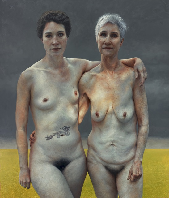 Aleah Chapin, 'Jumanji and Gwen', 2014, Flowers