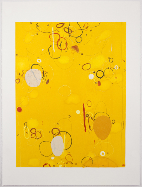 , 'Golddigger Buttercup II,' 2013, Tamarind Institute