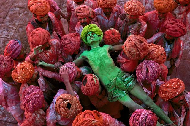 , 'Holi Man, Rajasthan, India,' 1996, Cavalier Ebanks Galleries