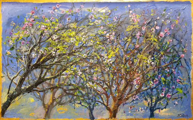 , 'Branches with First Blossom,' 2017, Galerie d'Orsay
