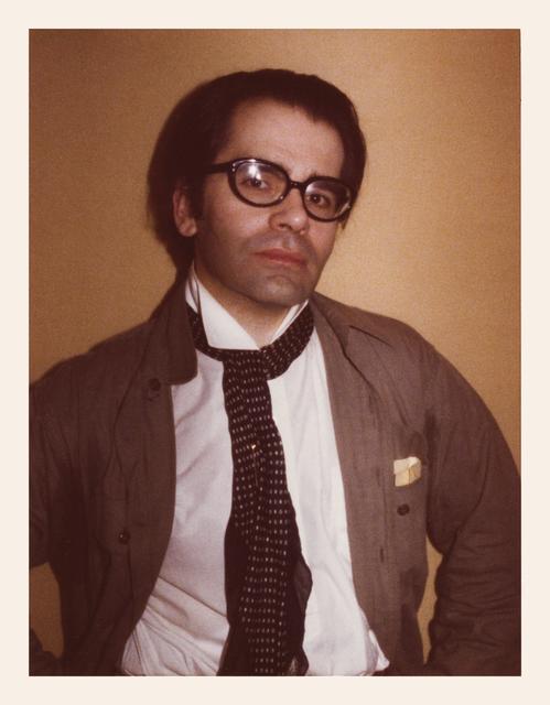 , 'Karl Lagerfeld,' 1976, Danziger Gallery