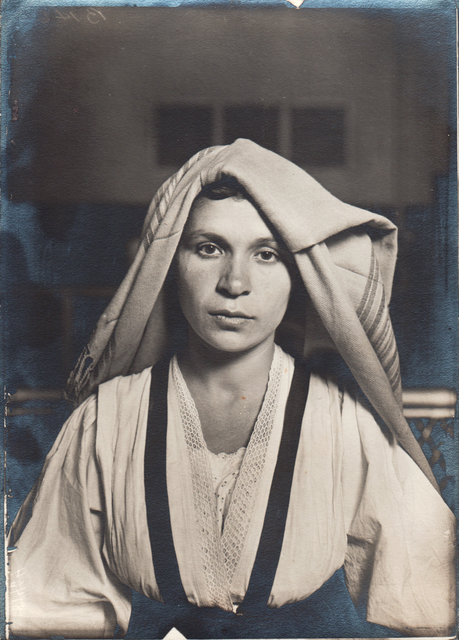 , 'Slavic Woman with Shawl,' 1905 c. / Print date: Later, Alan Klotz Gallery