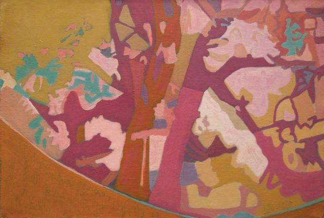 , 'Red Apple Tree,' 1990, Walter Wickiser Gallery