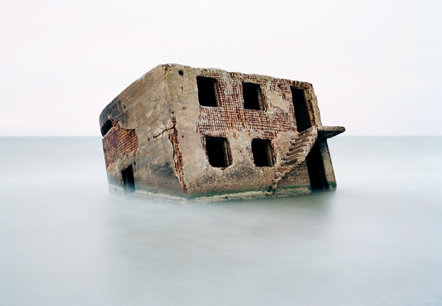 , 'Bunker in the Baltic Sea, Latvia.,' 2002, Anastasia Photo