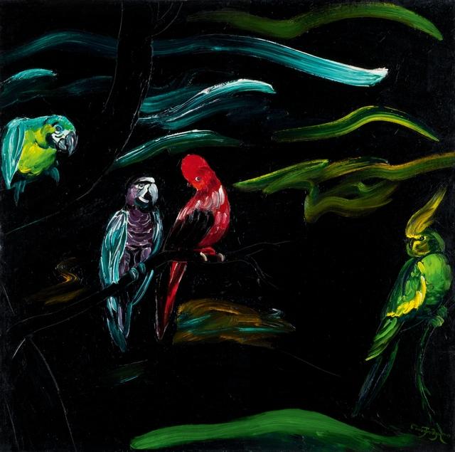 , 'The Parrots,' 1984, Galerie Kornfeld