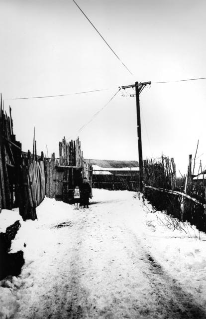 , 'Utility Pole, Tsugaru (Somehow Familiar Places series),' 1972, MIYAKO YOSHINAGA