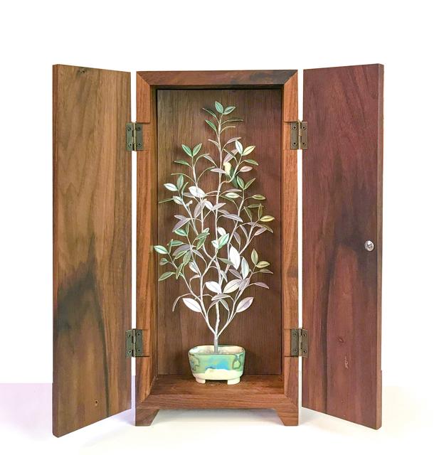 , 'Pure Enjoyment in a Planter – Tree and Bird 2,' 2018, Yiri Arts