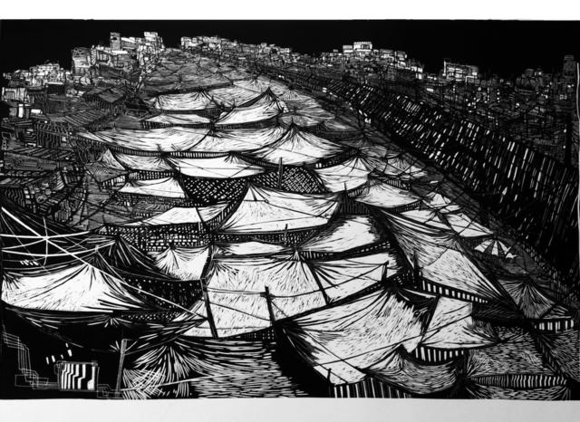 Luisa Estrada, 'Dicen que el bosque se extiende hasta el mar', 2013, Eme Espacio de Arte