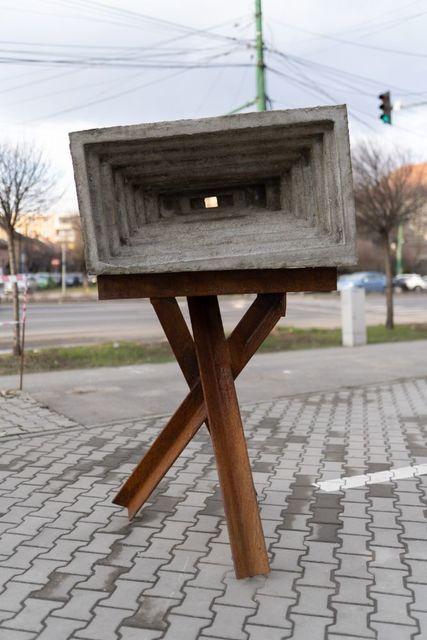 Michele Bressan, 'Bunker', 2020, Sculpture, Concrete, iron standing structure, Art Encounters Foundation
