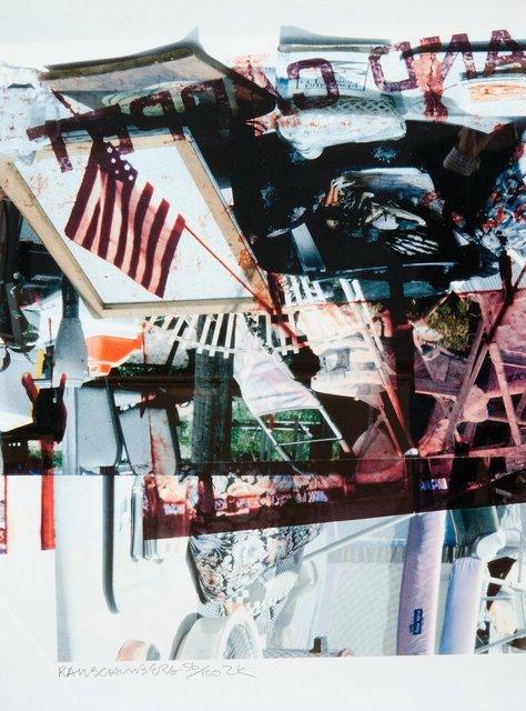 Robert Rauschenberg, '2K', 2000, michael lisi / contemporary art