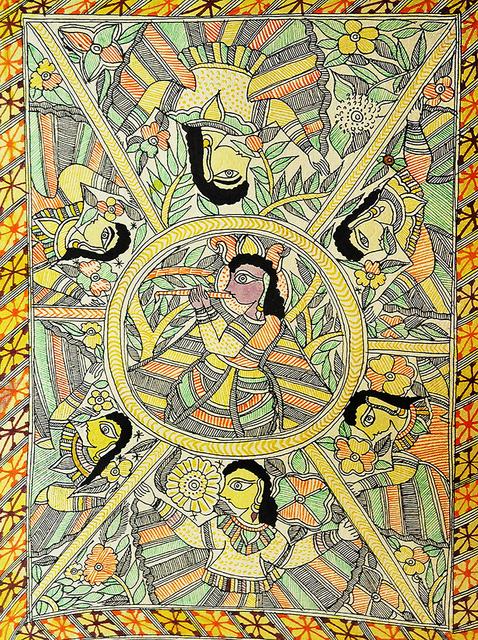 , 'Feminism - Madhubani (Indian Tribal & Traditional Art),' 2012, ICAC
