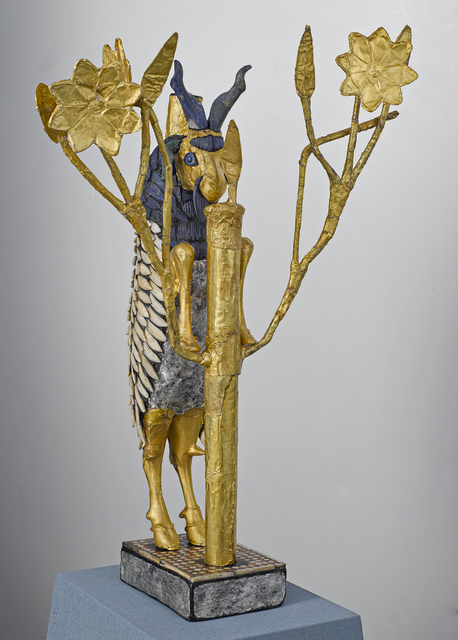 Unknown Artist, 'Ram in the Thicket', ca. 2450 BCE, Penn Museum
