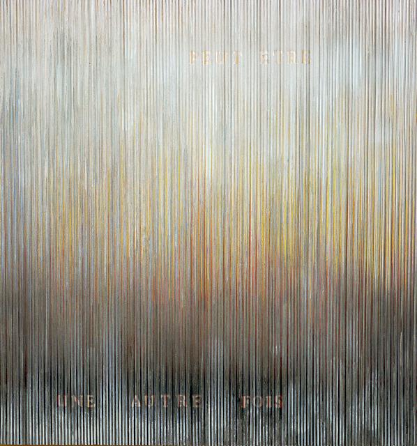 , 'Surrogat peut-etre une autre fois,' 2016, Galerie Gans