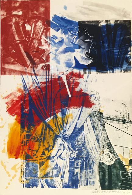 Robert Rauschenberg, 'Untitled (Carnegie Hall)', 1990, Upsilon Gallery