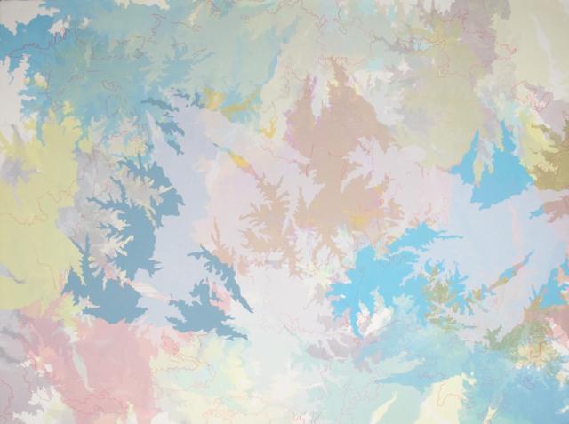 , 'Shadow shapes,' 2017, Nicole Longnecker Gallery