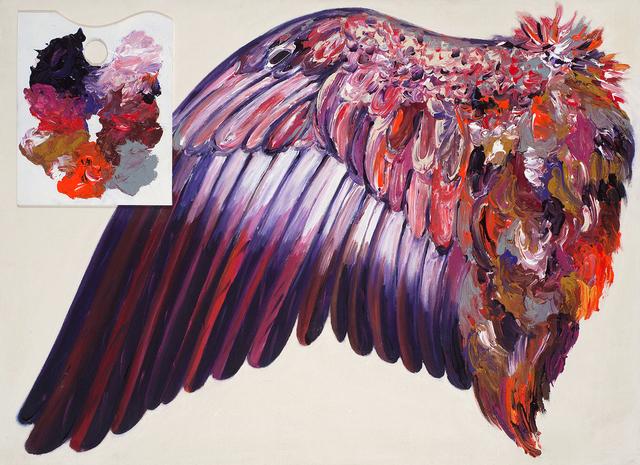 , 'Grande Prédelle rouge,' 2010, La Patinoire Royale / Galerie Valerie Bach
