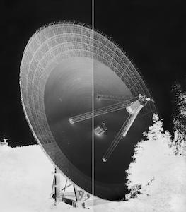 , 'Radio Telescope, Effelsberg, XV: September 12, 2013,' 2013, New Orleans Museum of Art