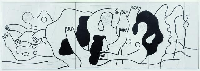 , 'Les Plongeurs (The Divers),' 1942, Museum Ludwig