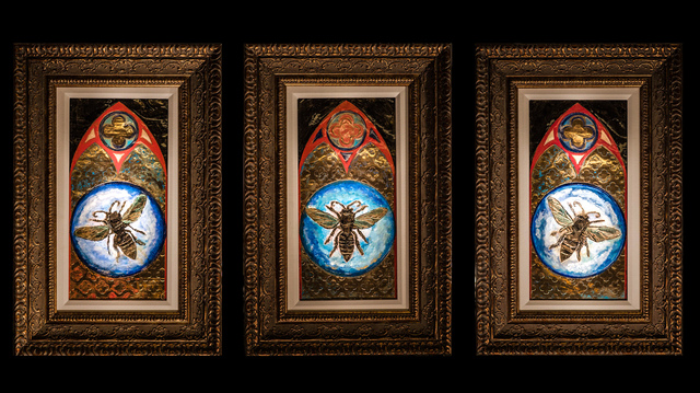 , 'Honey Bee (Triptych),' , HG Contemporary
