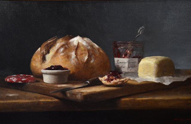 Sarah Lamb, 'Bonne Maman and Butter', 2018, Ann Korologos Gallery