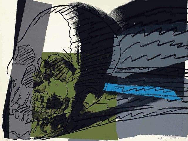 Andy Warhol, 'SKULLS FS II.160', 1976, Gallery Art