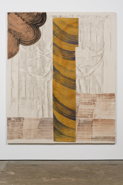 , 'Brown and Grey Head,' 2018, Posner Fine Art