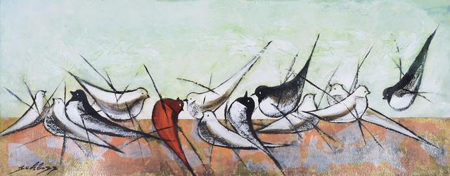 , 'Hummingbirds,' 2018, Blue Gallery