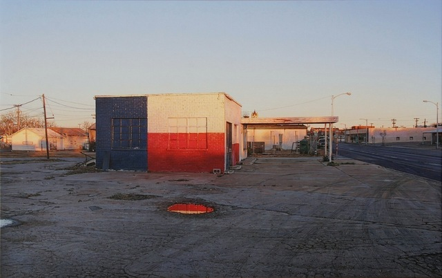 , 'Red, White, and Blue Station / Brady, TX,' 2013, Miles McEnery Gallery