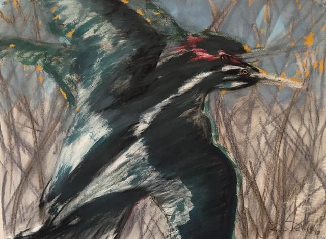, 'Talisman Dream - Whispering Bird,' 2019, LeMieux Galleries