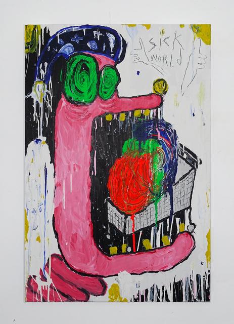 , 'Fum-il fava (Sick World),' 2016, SADE
