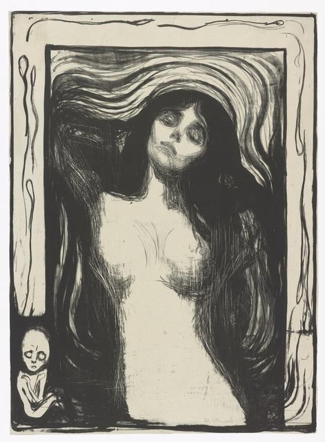 , 'Madonna,' 1895, Munch Museum
