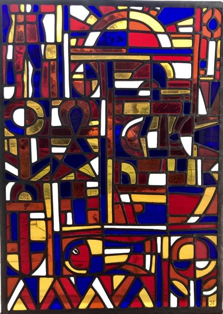 """Joseph Collell, '""""Constructivo sol en colores primarios""""', ca. 1965, Tazart"""