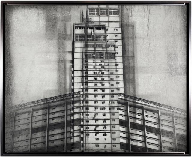 Daniel Rodríguez Collazo, 'Estudios  Fotogénicos No. 3', ca. 2017, Painting, Oil and charcoal on canvas, Sager Braudis Gallery