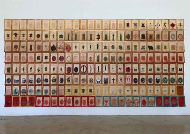 Anne and Patrick Poirier, 'Journal du poète', 2019, Galleria Fumagalli