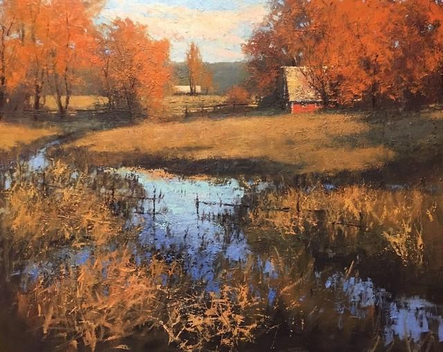 ", '""Golden Day"",' 2017, Bonner David Galleries"
