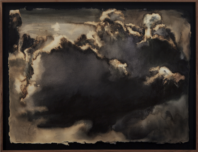 , 'Delacroix's cloud,' 2017, Barnard