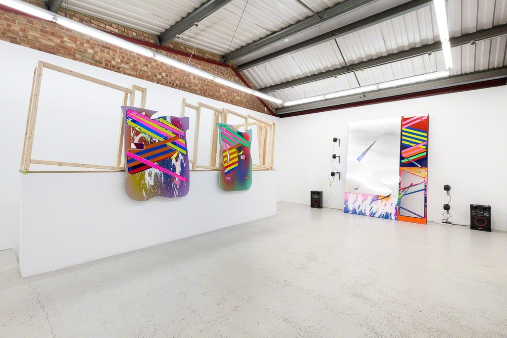 Installation view of Marton Nemes 'CACOTOPIA 03' at Annka Kultys Gallery, London 2018. Photo: Annka Kultys Gallery (Damian Griffiths)