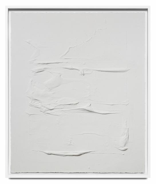 Jason Martin, 'Veritas white V', 2018, STPI