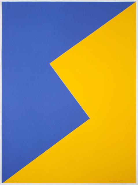 Leon Polk Smith, 'Untitled (Tamarind J)', 1968, Senior & Shopmaker Gallery