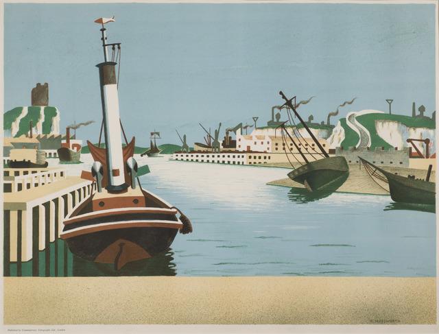 , 'Imaginary Harbour,' 1938, Redfern Gallery Ltd.