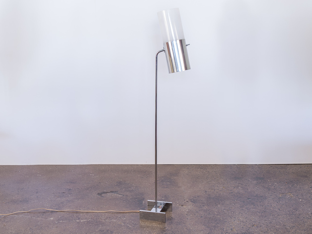 , 'Chrome Floor Lamp with Cylindrical Shade,' ca. 1970, Open Air Modern