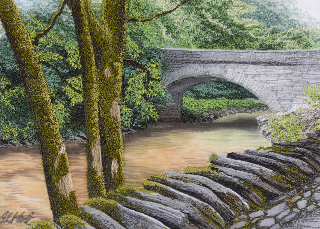 , 'Over The Bridge,' 2019, Daniel Raphael