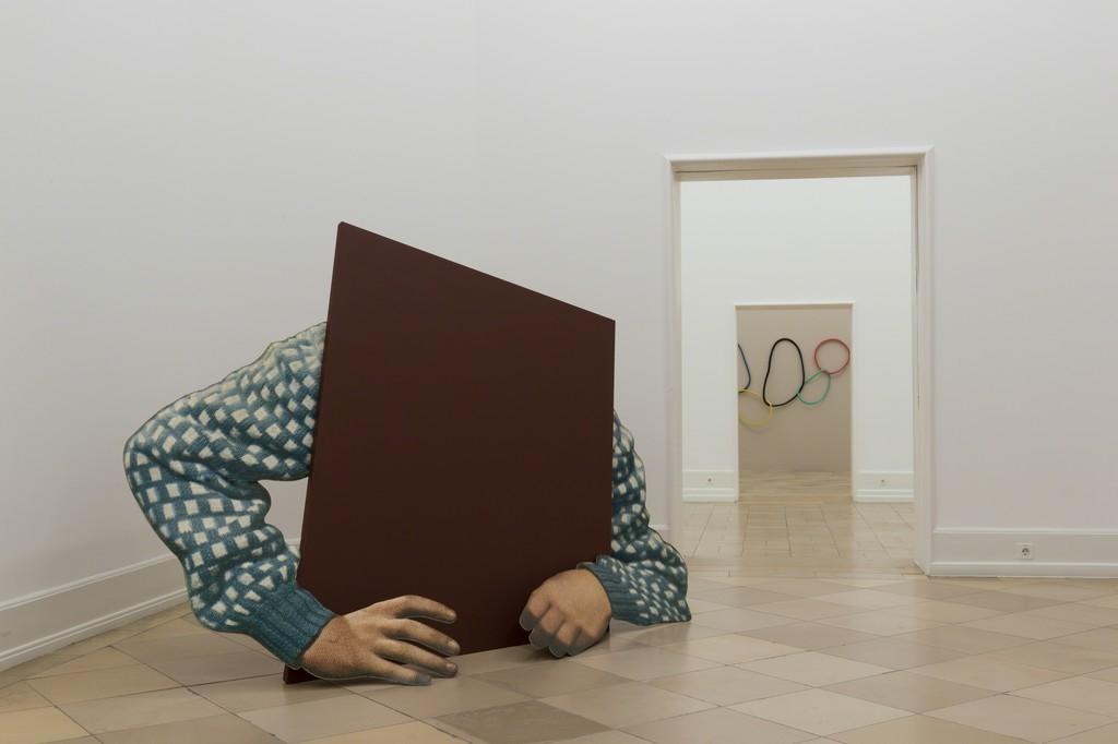 "Series ""Actors, Models & Dudes"" from the exhibition ""Manchmal erscheinst du mir sehr abstrakt"", Kunsthalle Nürnberg 2016"