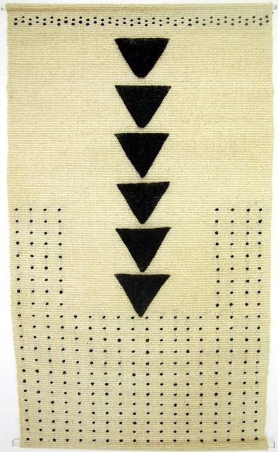 Trine Ellitsgaard, 'Sin título (triángulos)', 2002, Galería Quetzalli