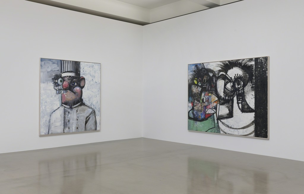 Installation view, George Condo, What's the Point, Sprüth Magers, Los