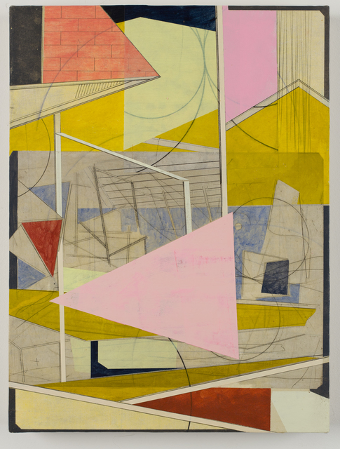 David Collins, 'IMG_2030', 2021, Painting, Acrylic on paper mounted on panel, Susan Eley Fine Art