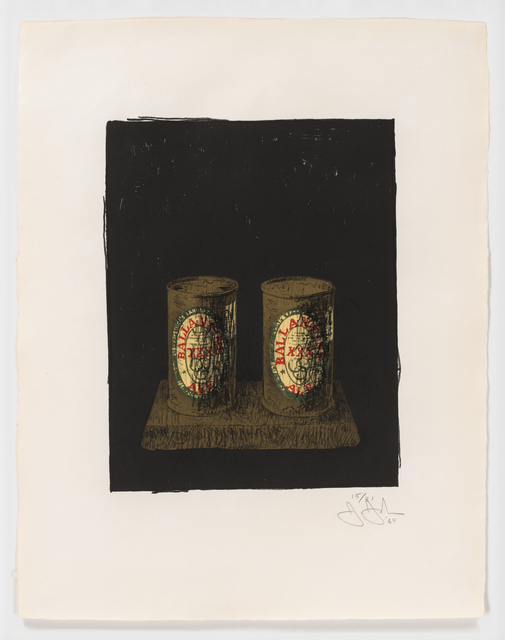 , 'Ale Cans,' 1964, Susan Sheehan Gallery